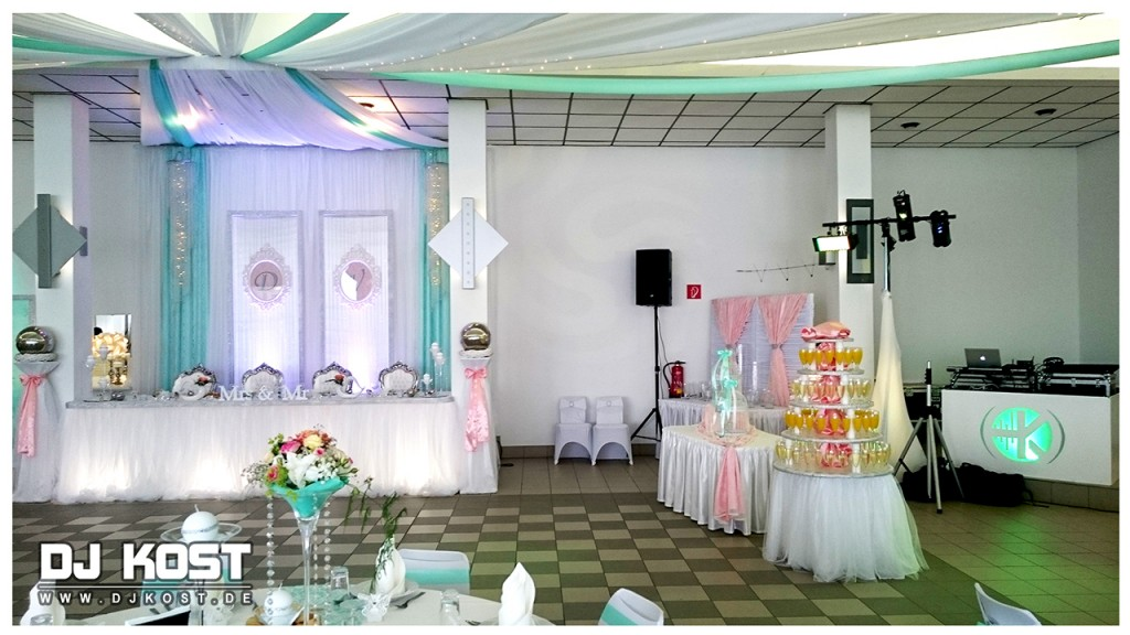 Hochzeit im Oesberg-Saal in Bad Pyrmont