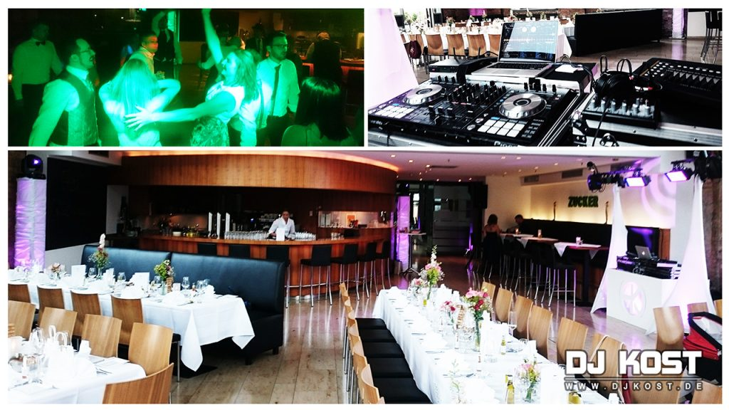 Hochzeit im Zucker Restaurant in Braunschweig