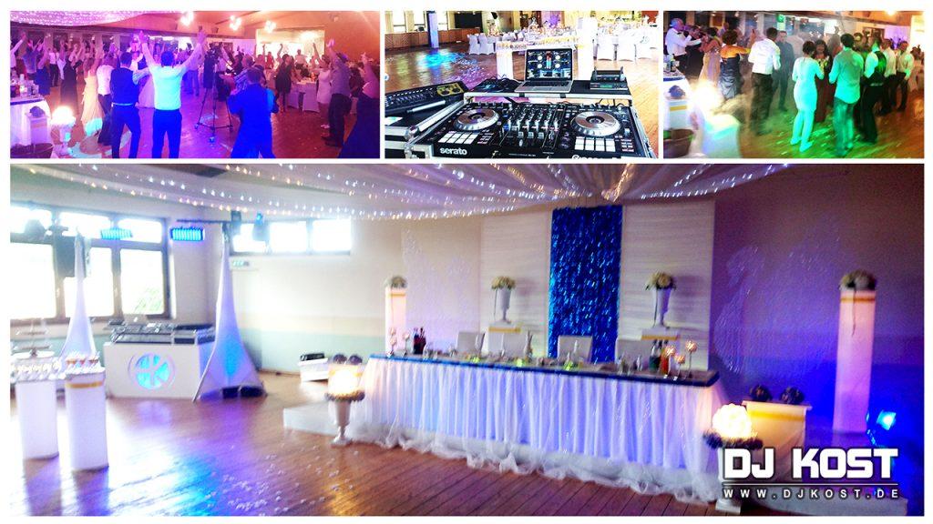 Hochzeit in Nieheim in der Festhalle Sommersell