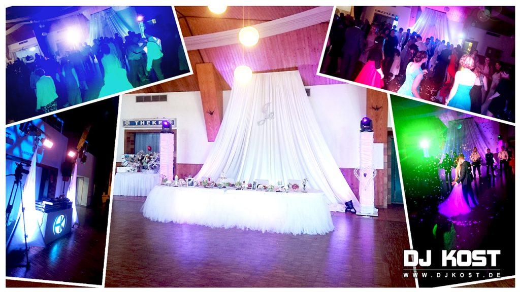 Hochzeit in der Festhalle in Warburg