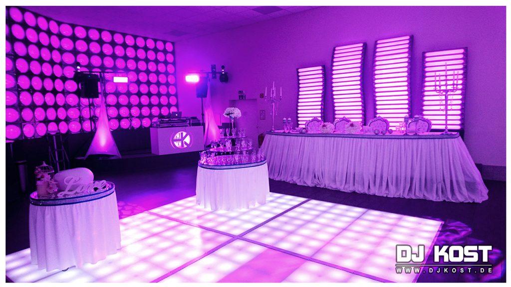 Hochzeit im Festsaal Deluxe in Erwitte