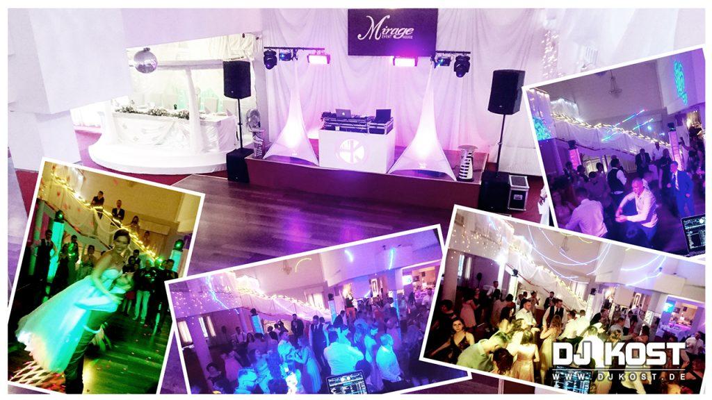 Hochzeit im Mirage Event House in Wedemark/Hannover