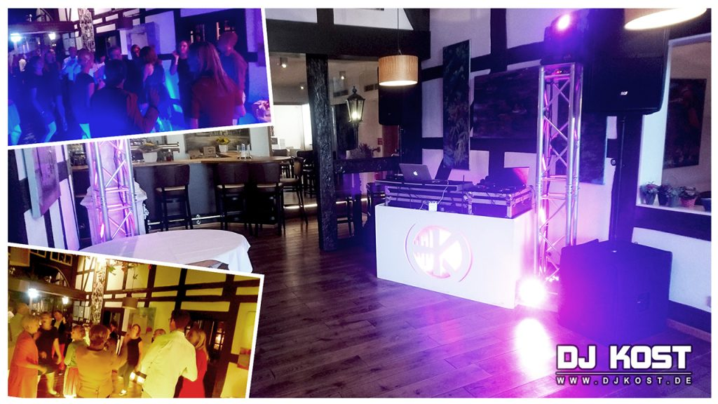50. Geburtstagsfeier im Restaurant Deele in Warburg
